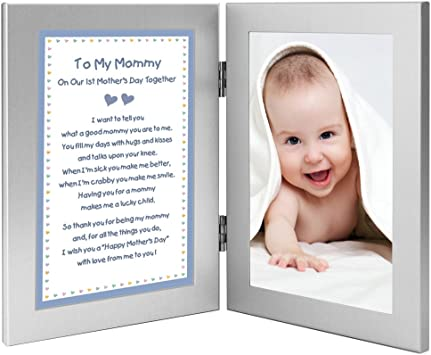 Mom Frame Mothers Day frame Mom Gift Personalized frame Mommy and me frame My First Mother/'s Day First Mothers Day gift New mom gift