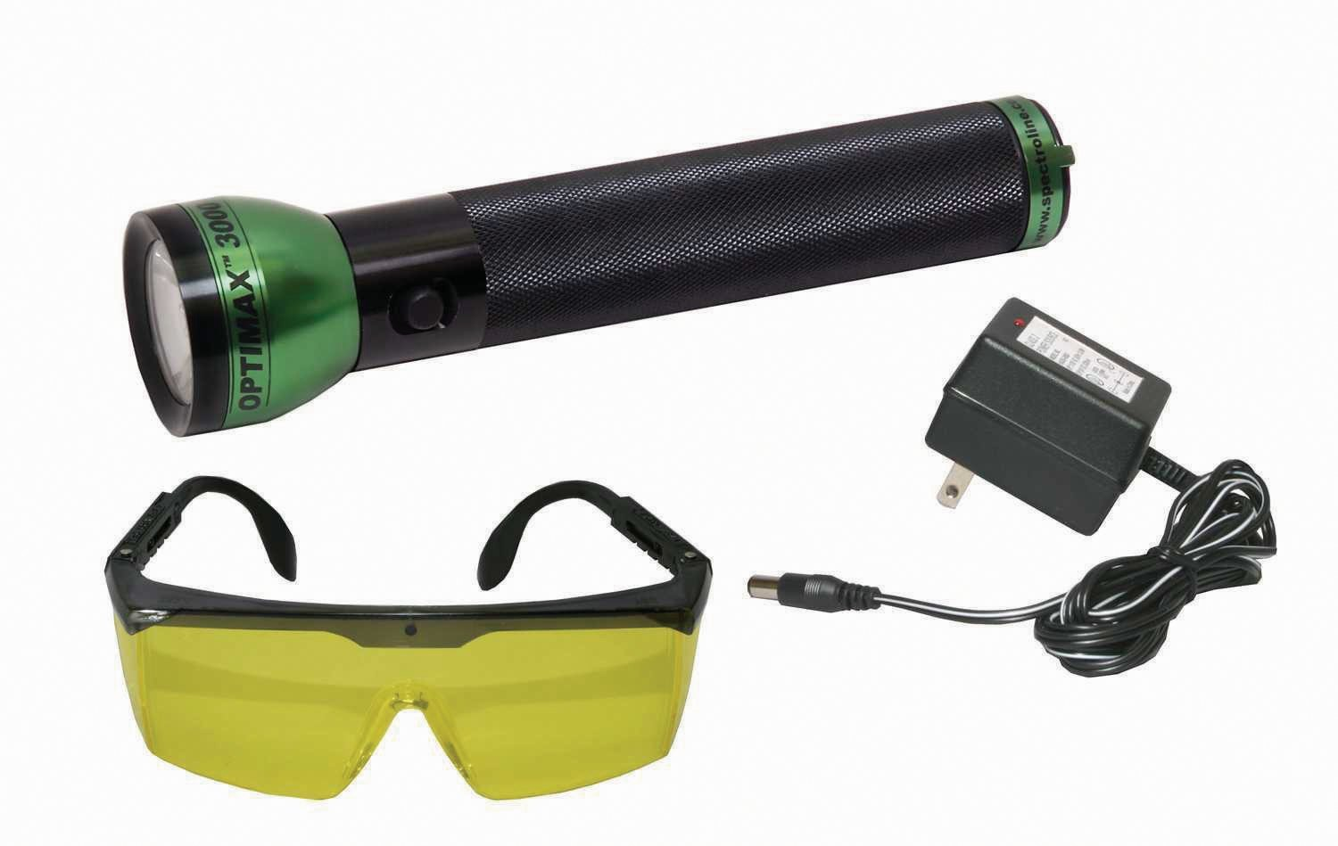 Spectronics Corp/Tracer TP8690 Optimax 3000 Cordless Leak Detection Flashlight