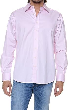 Café Coton Camisa para hombre, Color: Rosa Claro, Talla: 47: Amazon.es: Ropa y accesorios