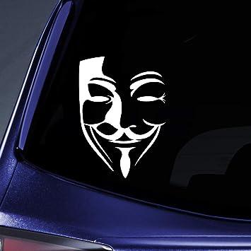 V For Vendetta Automotive Decal//Bumper Sticker