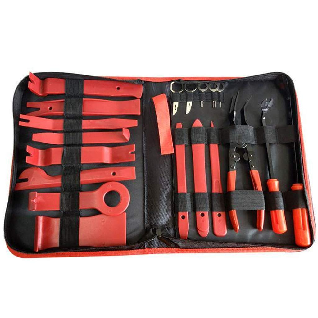 SEAyaho Car Disassembly Tools Kit 19pcs Trim Removal Repair Tool Set with Carry Bag