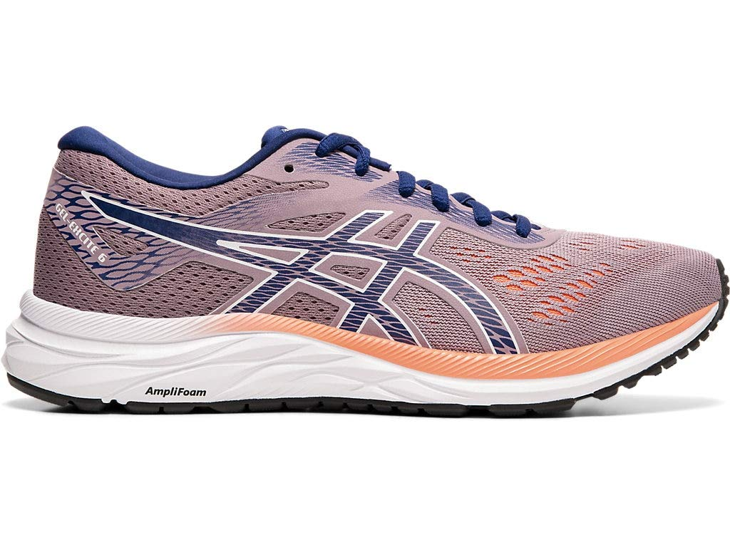 ASICS Women's Gel-Excite 6 Running Shoes, 5M, Violet Blush/Dive Blue