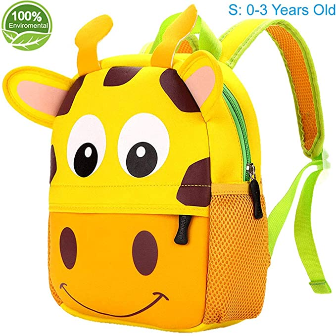 e98ff30abe Amazon.com  Toddler Backpack for Boys and Girls