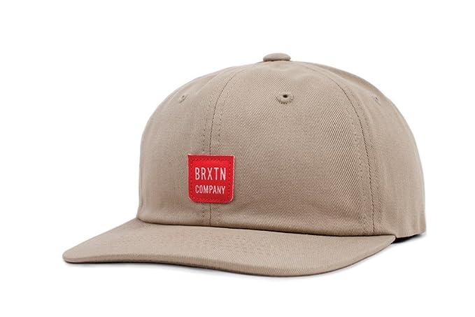 8ed8b69c9a7e4 Amazon.com  Brixton Men s Bering Low Profile Adjustable Hat
