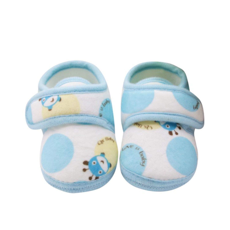 Baby Girls Boys Shoes Spring Autumn Summer Infant Soft Sole Crib First Walkers Cartoon Cute Flower Print