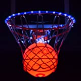 Light Up LED Rim Kit with LED Basketball Included