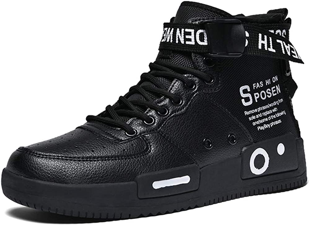 XIDISO Fashion Mens Women Sneakers High and Low Top Walking Shoes Sport Athletic Casual Shoe for Men