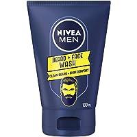 NIVEA MEN Beard & Face Wash, 100ml