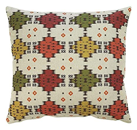 Guapore Lino Kilim Cojín decoración, 45x45: Amazon.es: Hogar