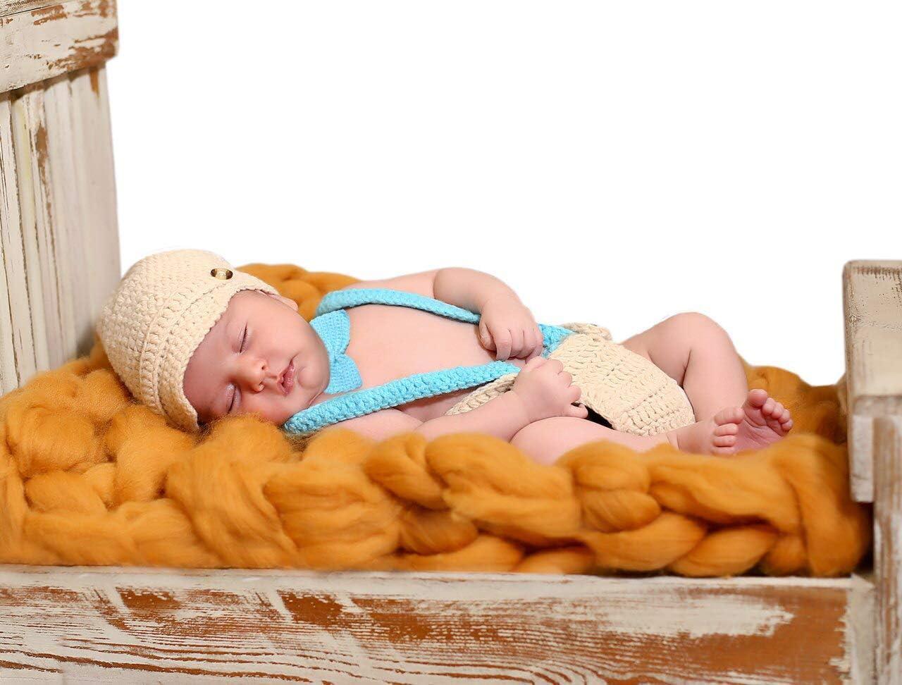 ideal para sesi/ón de fotos Sombrero del elefante Matissa Ltd Disfraz de ganchillo