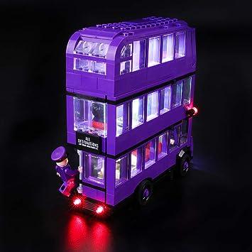 BRIKSMAX Kit de Iluminación Led para Lego Harry Potter Autobús ...