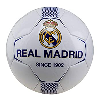 REAL-MADRID BALON N1 PEQ BLANCO-AZUL N.º de p: Amazon.es: Juguetes ...