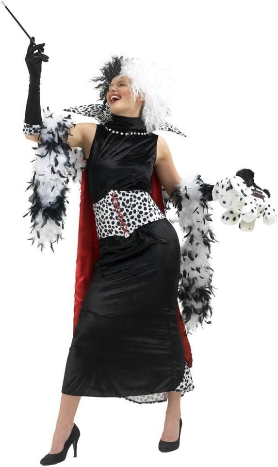 Rubbies - Disfraz de cruella de vil para mujer, talla M (888582MDM ...