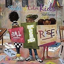 Shades of Color Kids 2016 Calendar