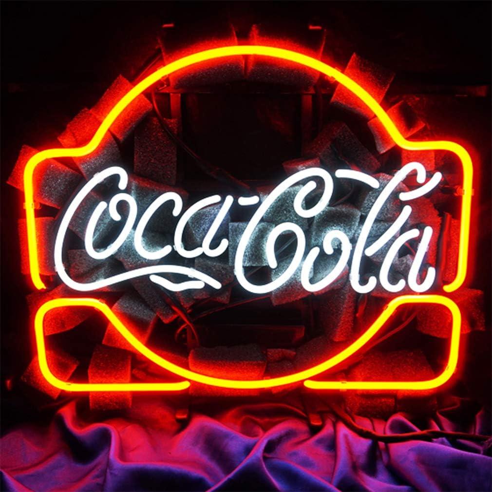 CoCa Cola Neon Signs LED Luz de neón, para bar, billar, hogar ...