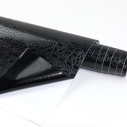 Leather Carbon Fiber Vinyl Car Film Sticker Snake Crocodile Skin Design Pattern