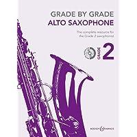 Grade by Grade - Alto Saxophone (Grade 2):