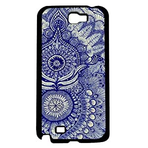 Blue and White Pattern Hard Snap on Phone Case (Note 2 II)