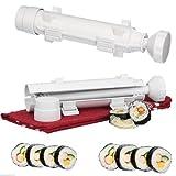 Sushi Roller Kit Rolls Made Bazooka Kitchen Easy Cooking Tools Tube Shape Food Sushi Mold Maker