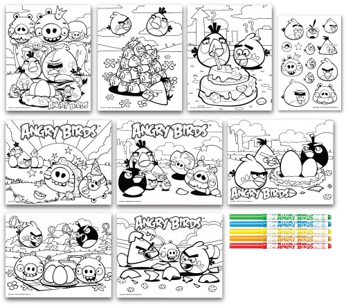 Cra Z Art Angry Birds Marker Drawing