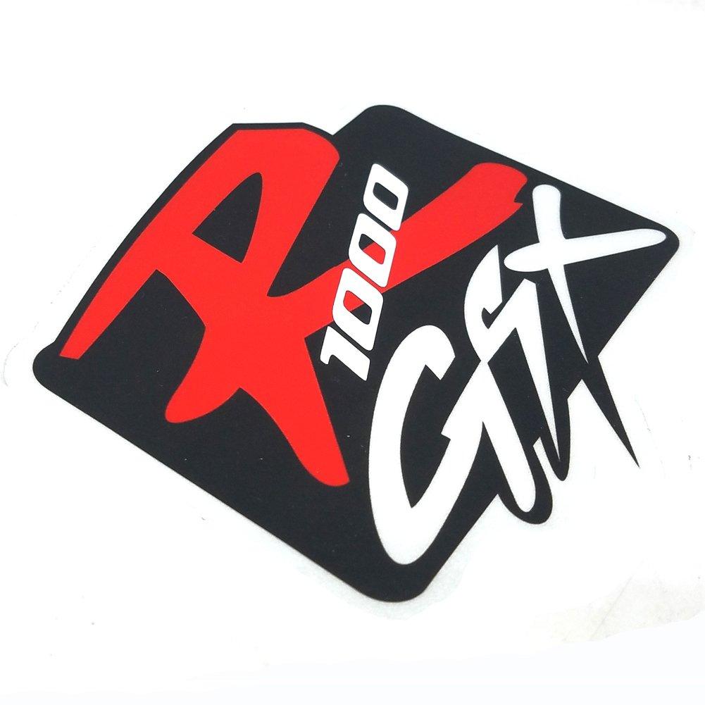 Amazon.com: Motorcycle Sticker Reflective Logo Decal Emblem ...