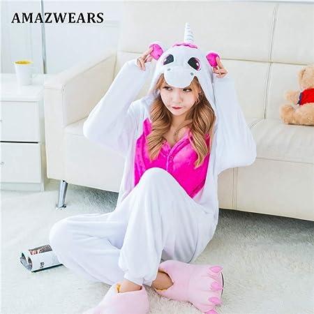 JYLW Pijamas Invierno Mujer Pijamas Mujeres Invierno ...