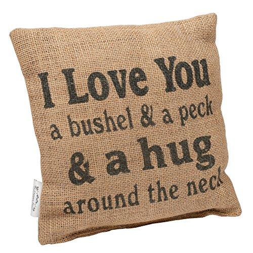 Amazon.com: I Love You a Bushel and Peck - Juego de 2 ...