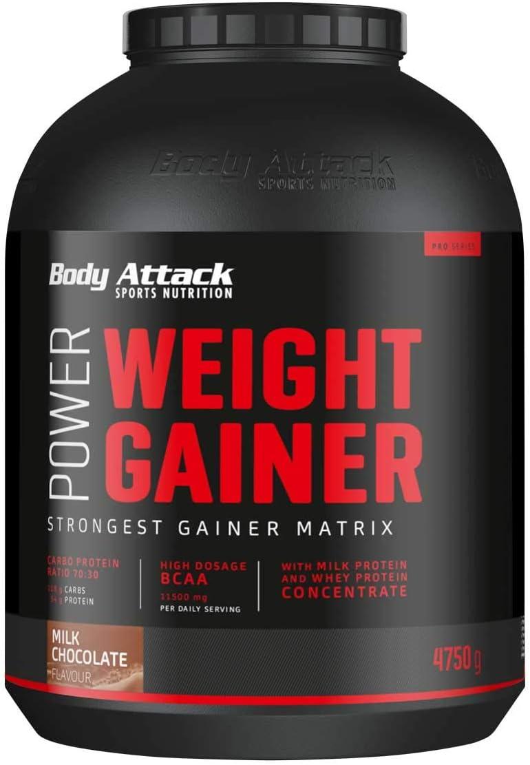 Body Attack Power Weight Gainer 100% de masa de carbohidratos ...
