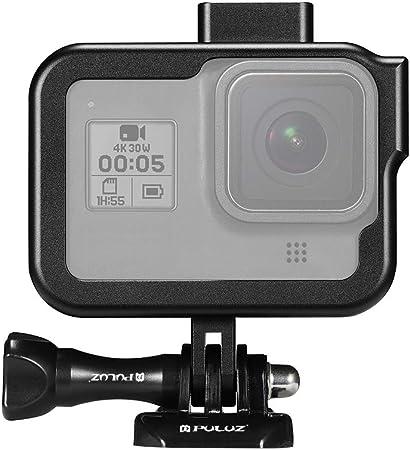Puluz Rahmenhalterung Für Gopro Hero 8 Schwarz Kamera