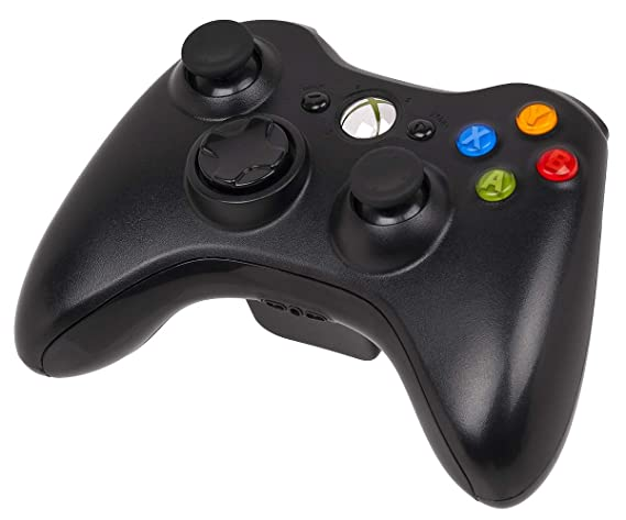 Official Xbox 360 Wireless Controller - Bulk Packaging - Black (OEM