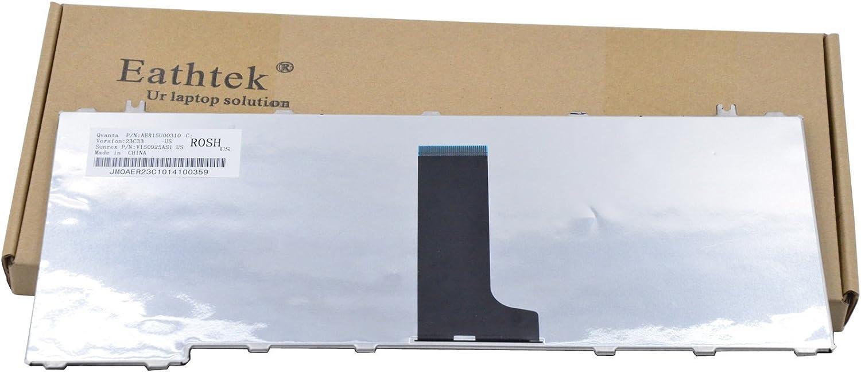 US Layout Black Color New Laptop Keyboard Replacement for Toshiba Satellite L455-S5975 L455-S5980 L455-S5981 L455-S5989 L455-SP2902A L455-SP2902C L455-SP2902R Series