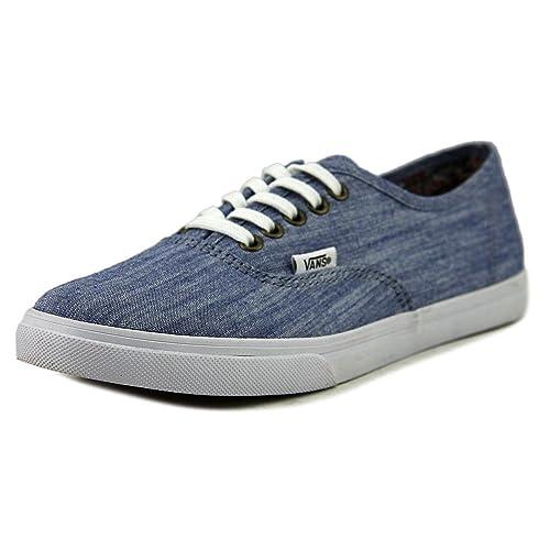 Vans Adult Authentic Lo Pro Floral Chambray Classics Shoe (8 Men 9.5 Women 797ae9890