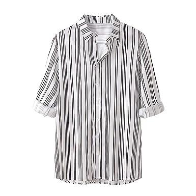 Vovotrade. Camisa de Verano de los Hombres Camisa de la Solapa de ...