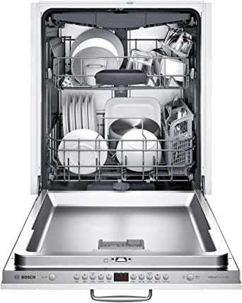 "Bosch SHV863WB3N 24"" 300 Series Dishwasher with 3rd Rack, 44 dBA, FlexSpace Tines, RackMatic, Speed60, in Panel Ready"