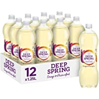Deep Spring Sparkling Mineral Water Orange Passionfruit 12 x 1.25 L