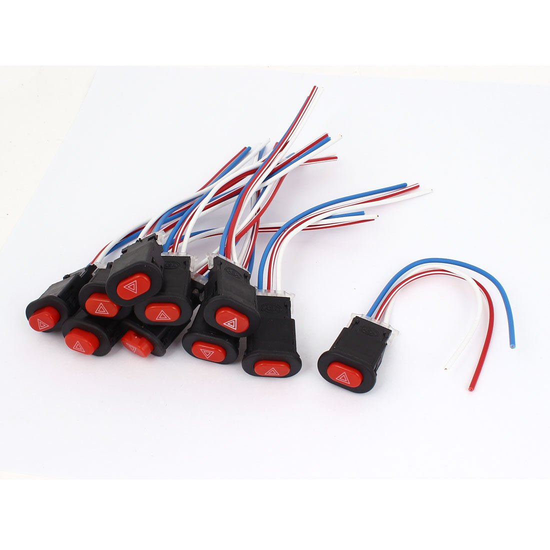 Latching Type Light Switch 10 Pcs for Scooter