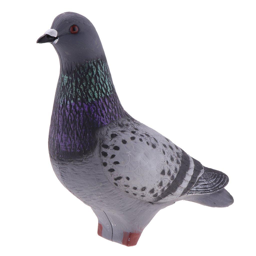 FLAMEER Pigeon Decoy Hunting Cebo De Señuelo Jardín Bird Scarer Scarecrow Pests Control, 3 Modelos - Modelo 3