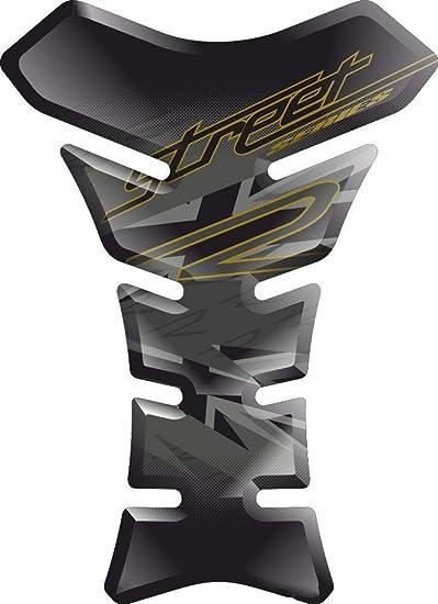 PARASERBATOIO ADESIVO RESINATO EFFETTO 3D compatibile con T.riumph Speed Triple 1050 v4