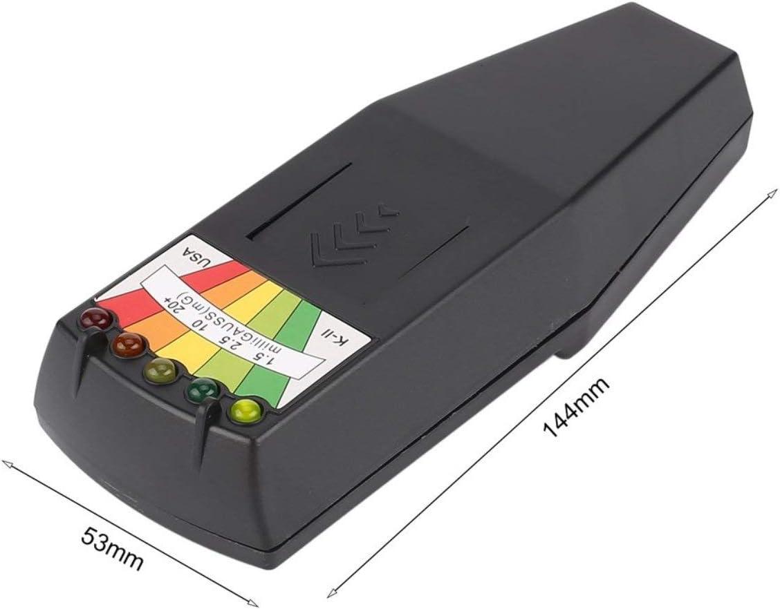 D/étecteur de rayonnement /électromagn/étique chaud LCD g/én/éral EMF dosim/ètre testeur pour la recherche paranormale Nocif Mesure dexposition noir