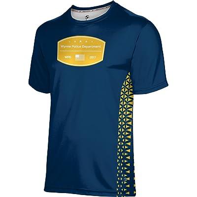ProSphere Boys' Wynne Police Department Geometric Shirt (Apparel)