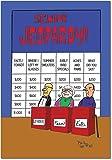"6291Z 'Senior Jeopardy' - Funny Birthday Greeting Card with 5"" x 7"" Envelope by NobleWorks"