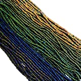 seed beads for jewelry making - Czech 11/0 Glass Seed Beads - Metal Mix (5 X 6-string Hanks) Preciosa Jablonex