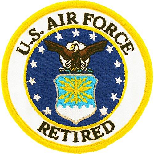 Patch-USAF Emblem,Retired (3'') ()