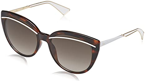 99ea24d00308e Image Unavailable. Christian Dior Diorliner Sunglasses Havana Rose Gold Brown  Gradient