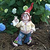 1970's Hippie Flower Child Girl Gnome Home and Garden Statue Figurine Review