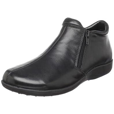 Walking Cradles Women's Zip Ankle Bootie,Black,5 ...