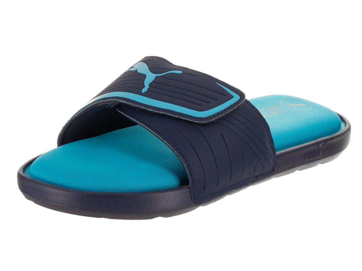 PUMA Men's Starcat Sfoam Athletic Sandal, Blue Danube/Peacoat, 9 M US
