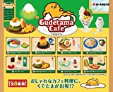 Re-ment Gudetama Cafe Egg Dishes Miniature Full Set BOX (Set of 8)