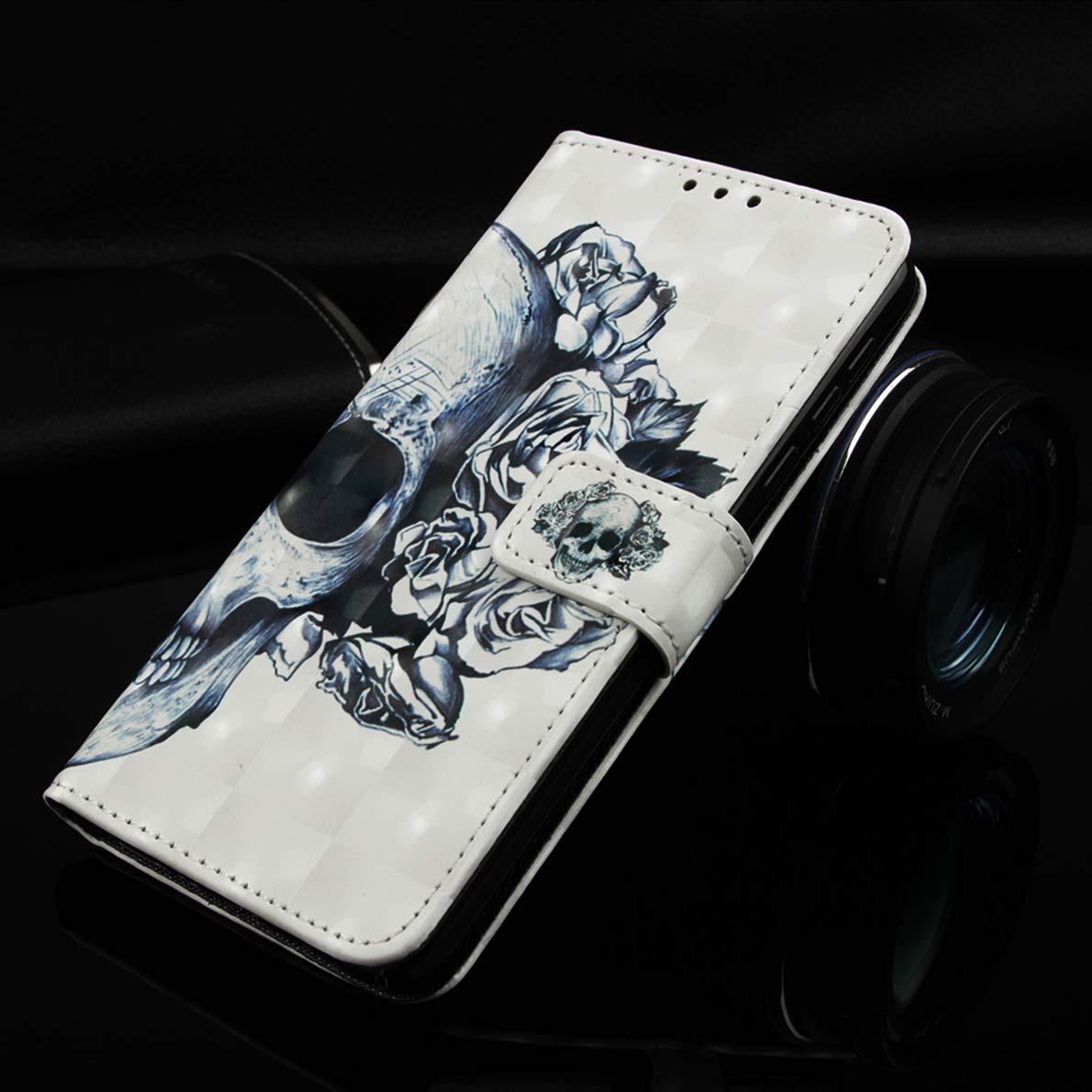 Custodia Samsung Galaxy A40 Cover SHUYIT Modello di Colore Portafoglio Custodia in Pelle 3D PU Case Cover Stand Carta Slot Chiusura Magnetica Caso Wallet Flip Cover per Samsung Galaxy A40