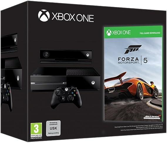Xbox One - Consola + Forza Motorsport 5: Amazon.es: Videojuegos
